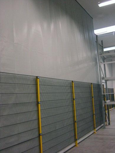Schallschutzvorhang