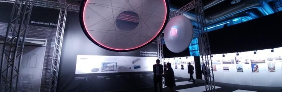 Netzwerk TEXTILE-ARCHITEKTUR mit Sonderfläche auf der ARCHITECT@WORK 2017