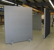 Mobile Schallschutzwand von AkustikKompetenz by Planex