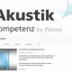 AkustikKompetenz auf Youtube: Produkte für Lärm- und Schallschutz in kurzen Videos