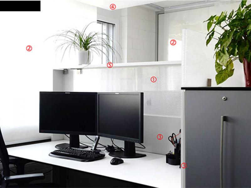 Akustiklösungen für Büros von AkustikKompetenz